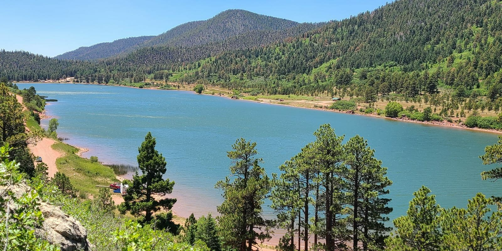 Monument Lake Resort Weston Colorado