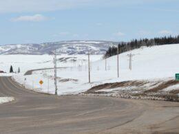 Muddy Pass Junction of Highway 14 Colorado