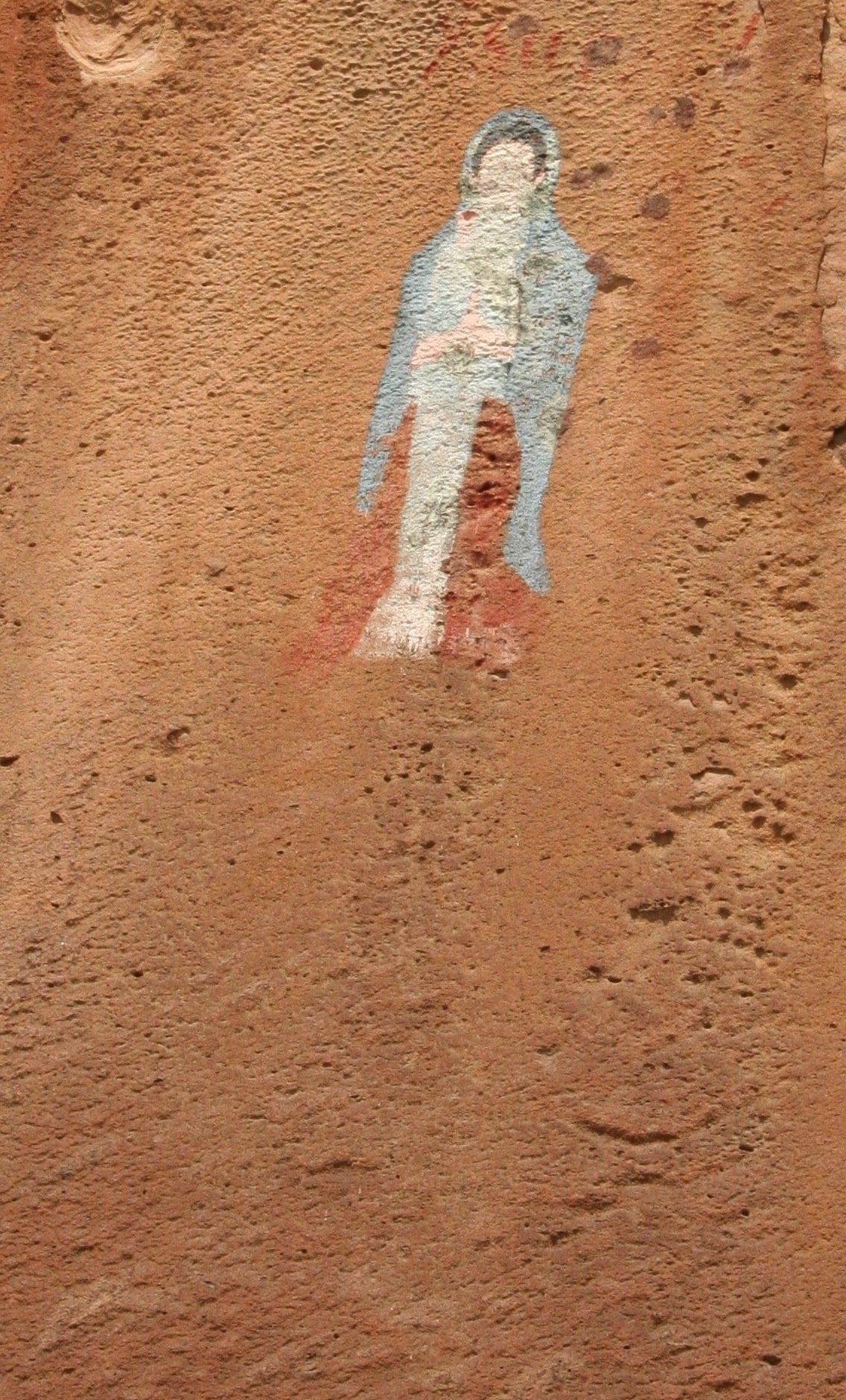 Virgin of Guadalupe Penitente Canyon Mural