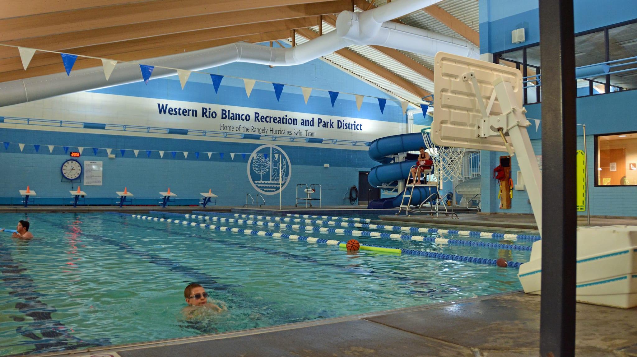 Rio Blanco County Rec Center Rangely CO Swimming Pool