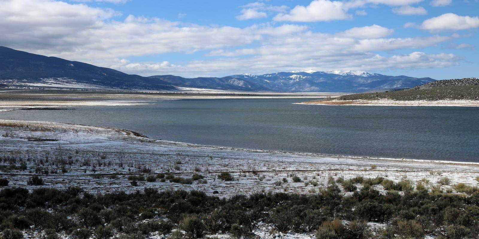 Sanchez Reservoir Costilla County Colorado