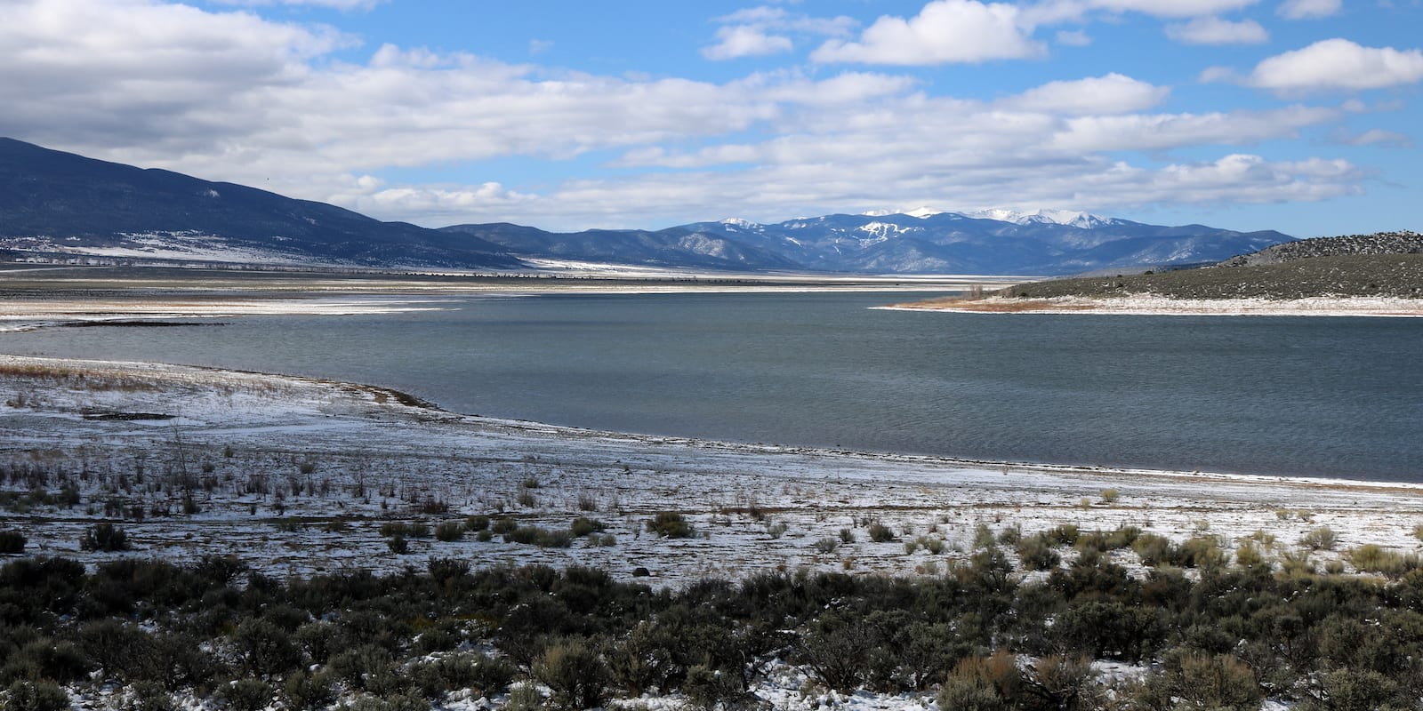 Sanchez Reservoir Costilla County Colorado