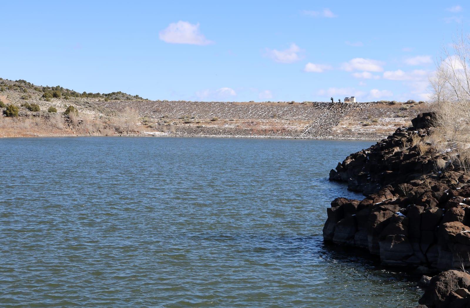 Sanchez Reservoir Dam Colorado