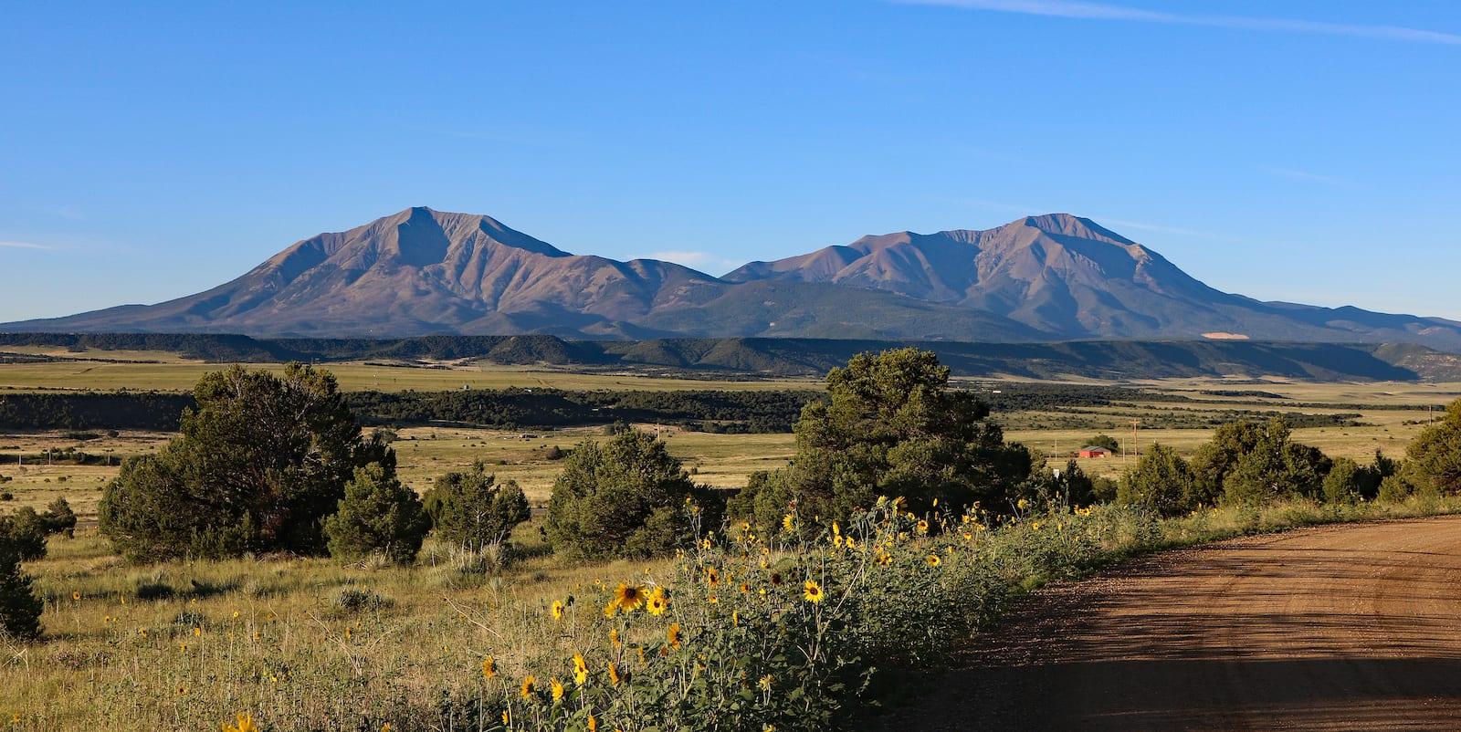 Spanish Peaks Sangre de Cristo Mountain Range