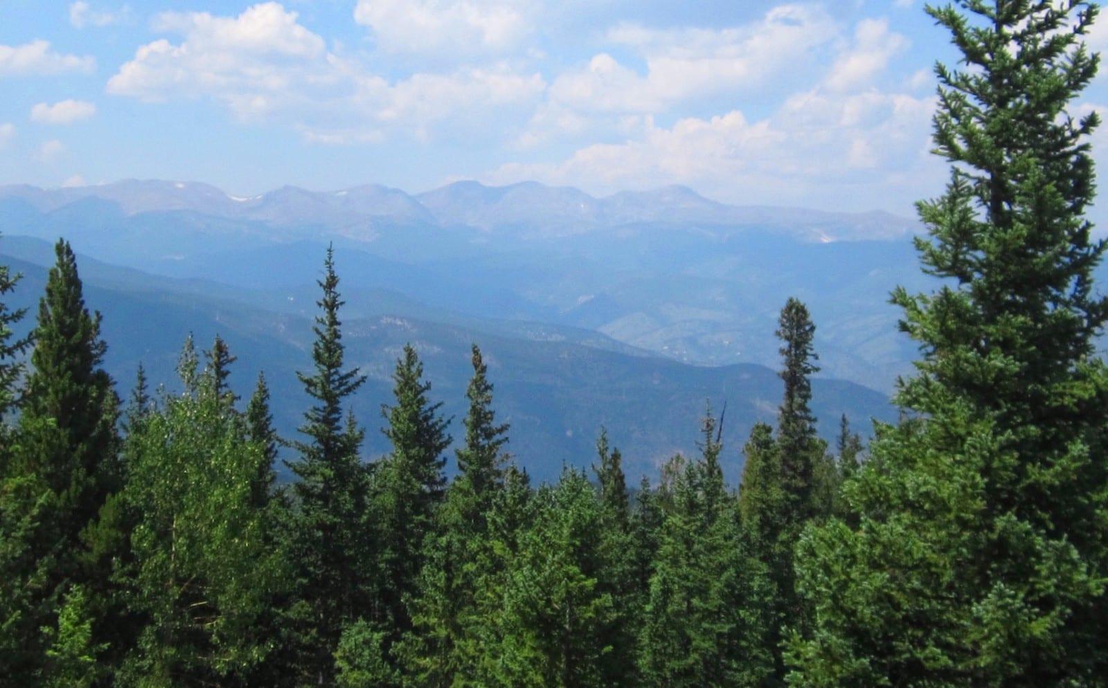 Squaw Pass Colorado Landscape