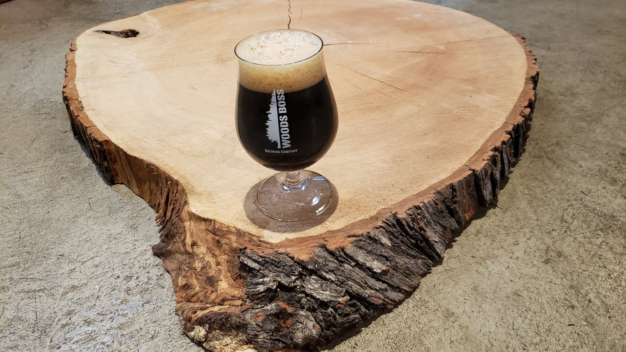 image of beer from woods boss brewing