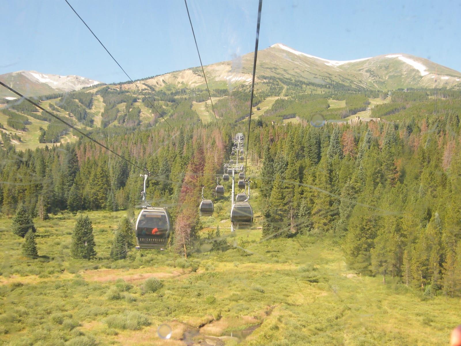 Breckenridge gondola, CO