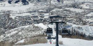Steamboat Ski Resort Winter Gondola