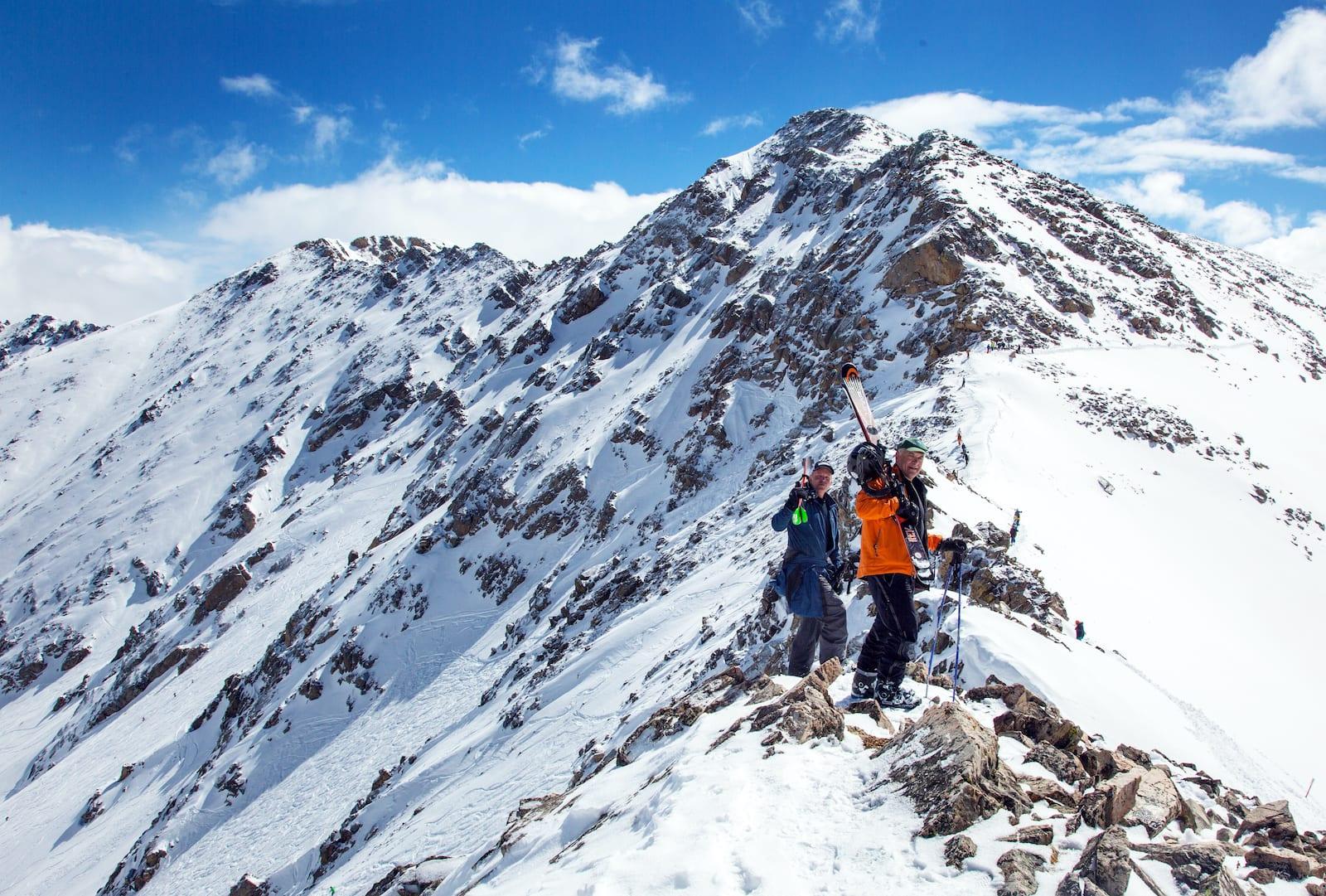 Arapahoe Basin Ski Area Hiking East Wall