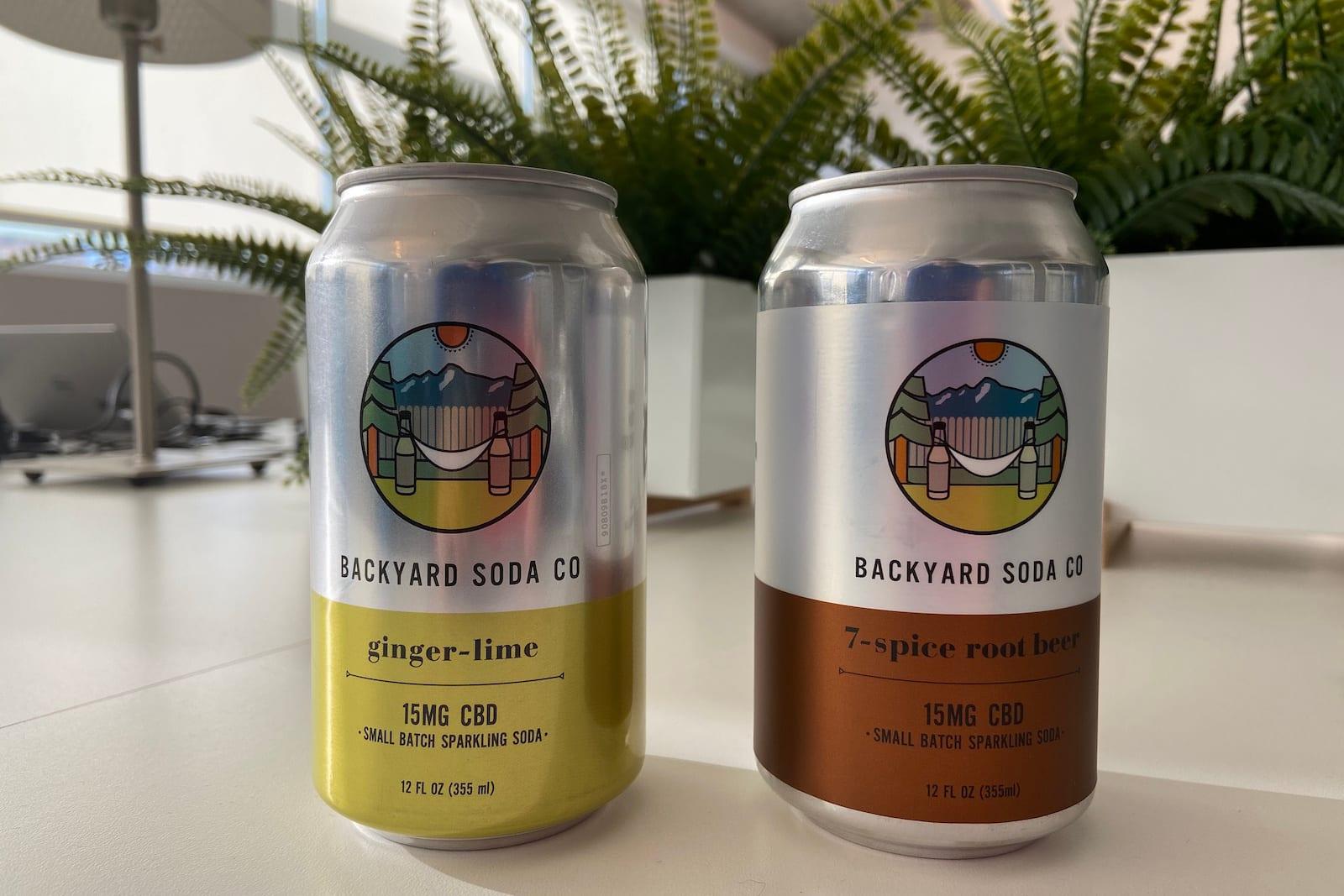 Backyard Soda Company CBD Cans
