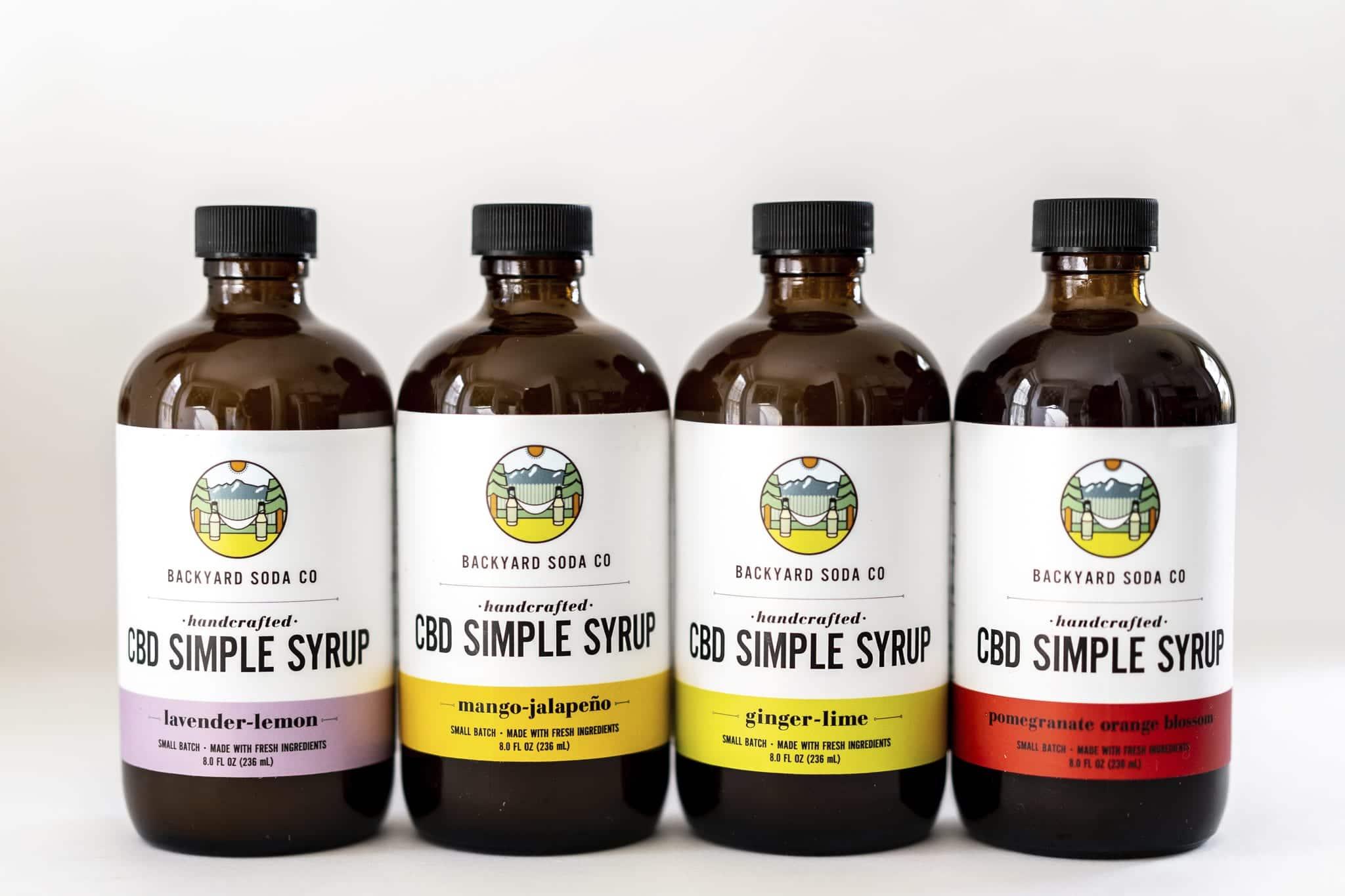 CBD Simple Syrup by Backyard Soda Co.