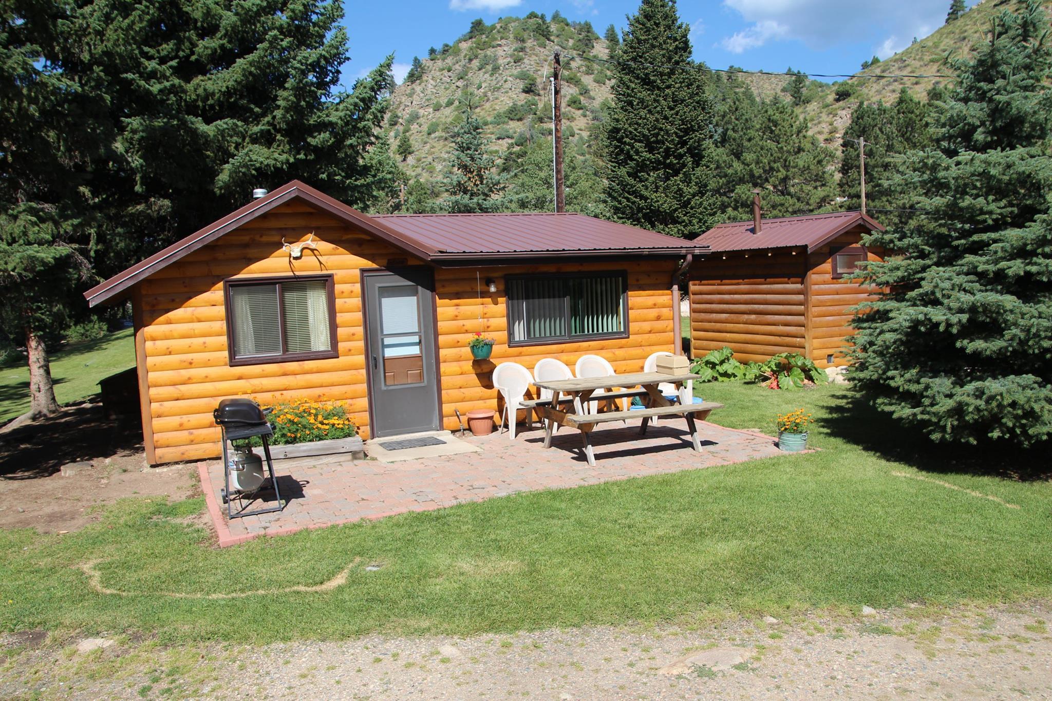 image of bighorn cabin