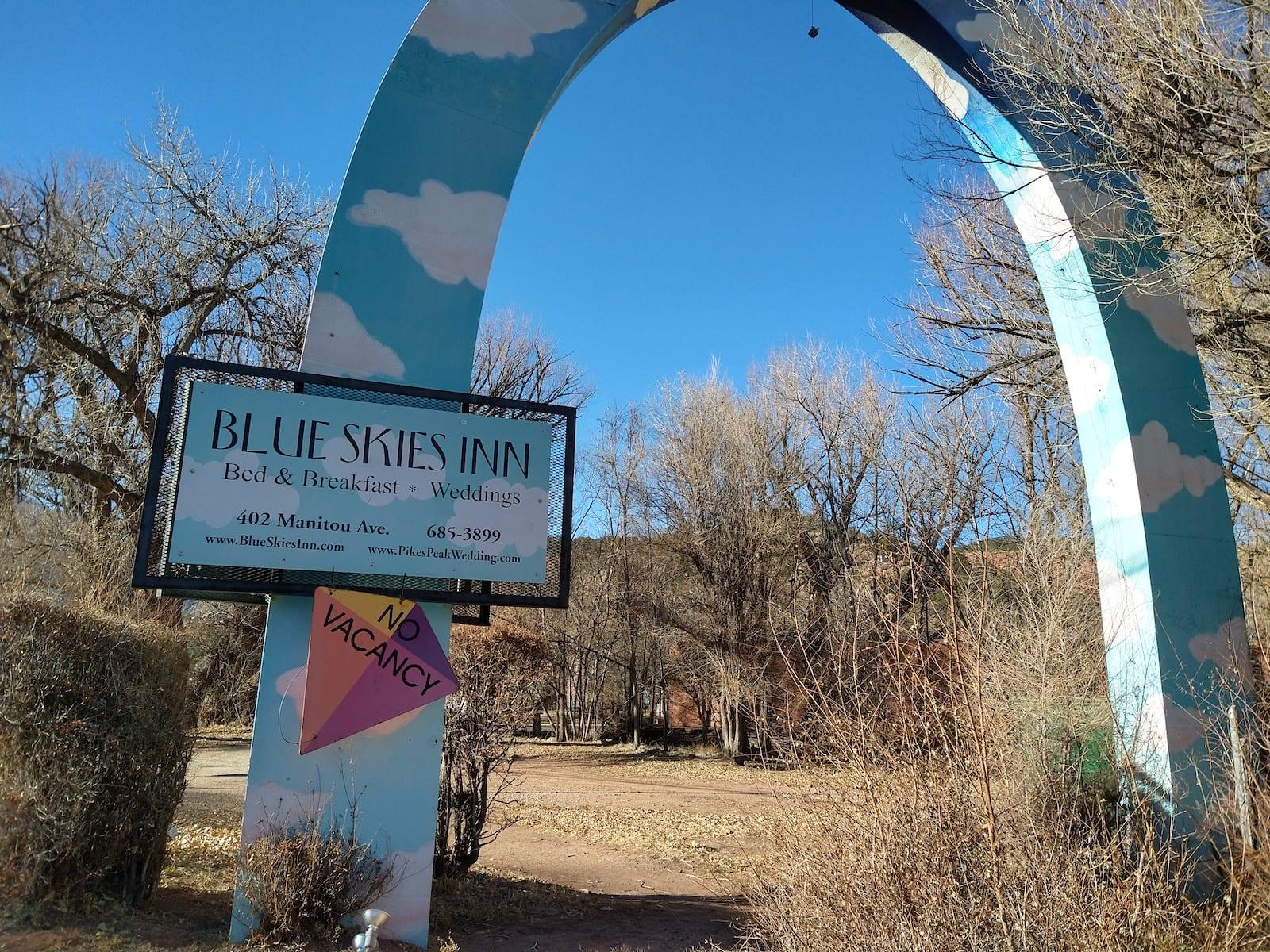 Blue Skies Inn Manitou Springs CO