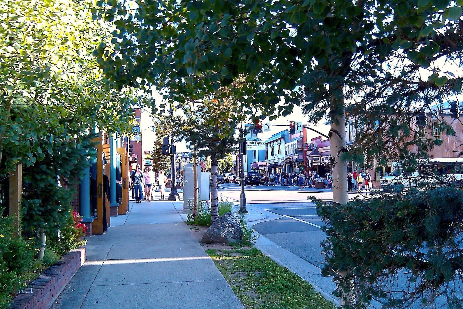 Downtown Breckenridge CO Main Street