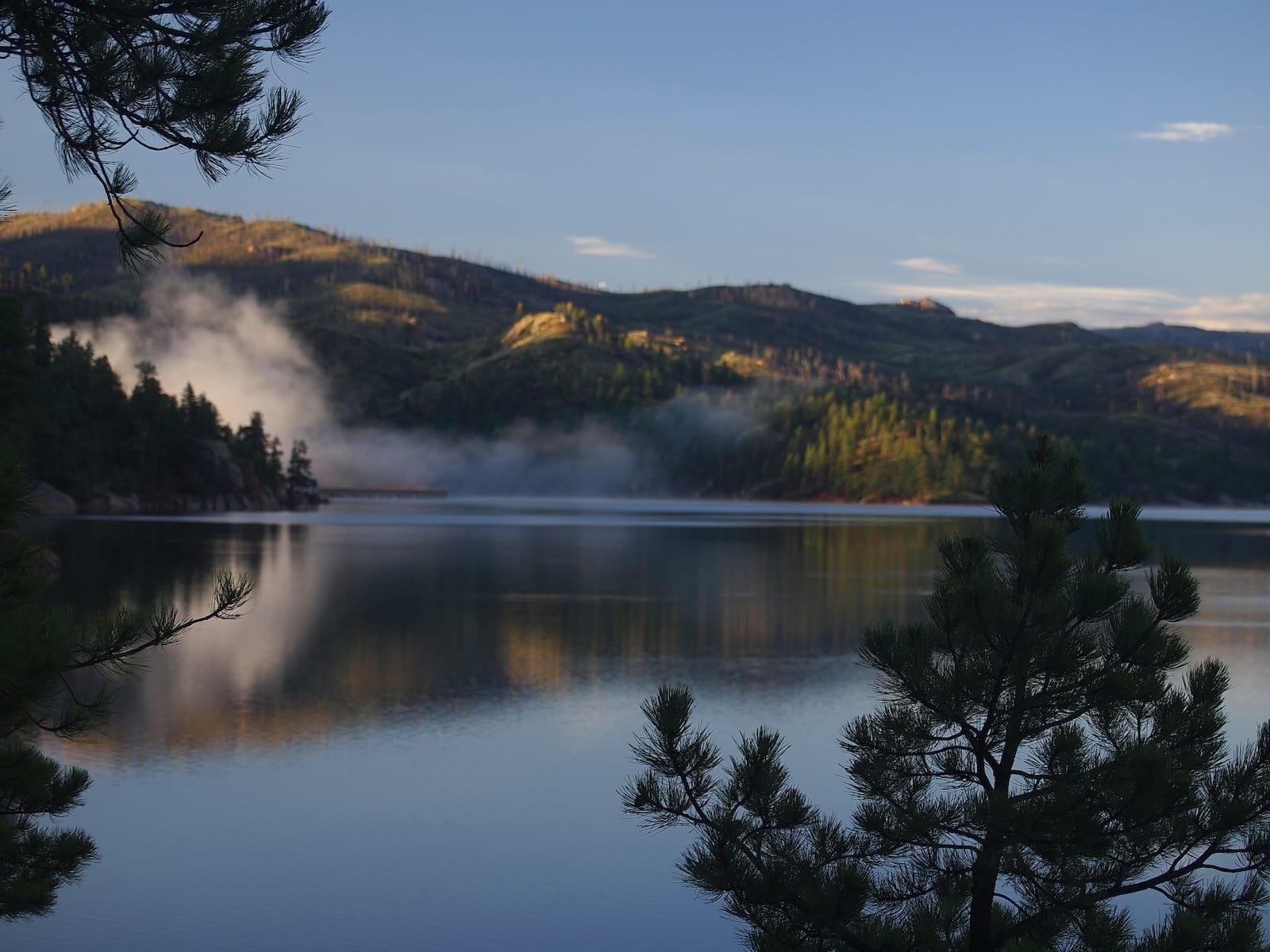 Cheesman Reservoir and Hillside Deckers Colorado