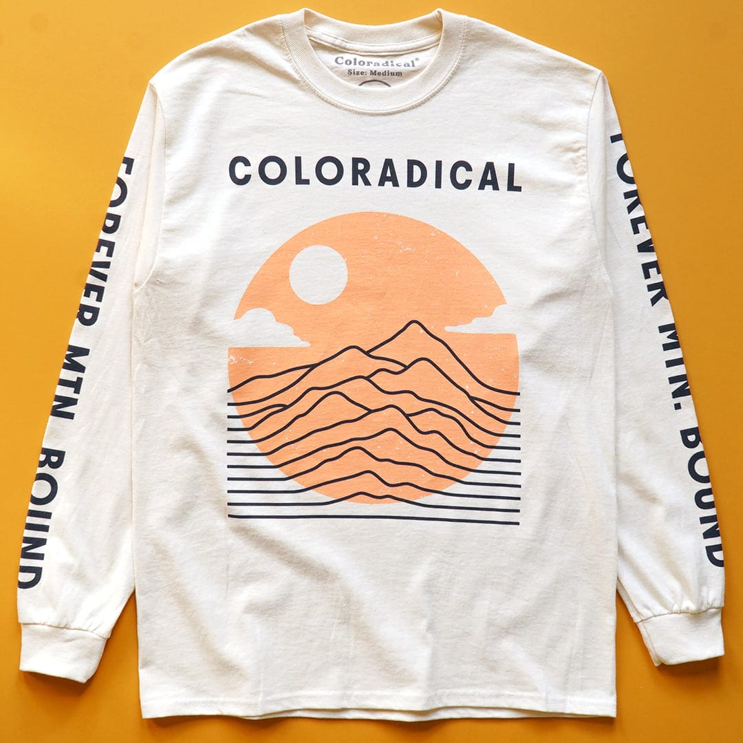 image of long sleeve t-shirt, coloradical