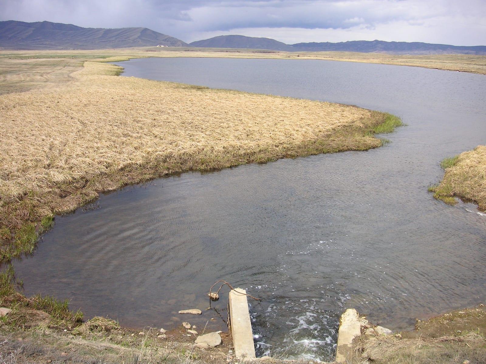 Cowdrey Lake Runoff Colorado