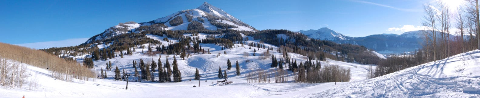Crested Butte Mountain Resort Panorama
