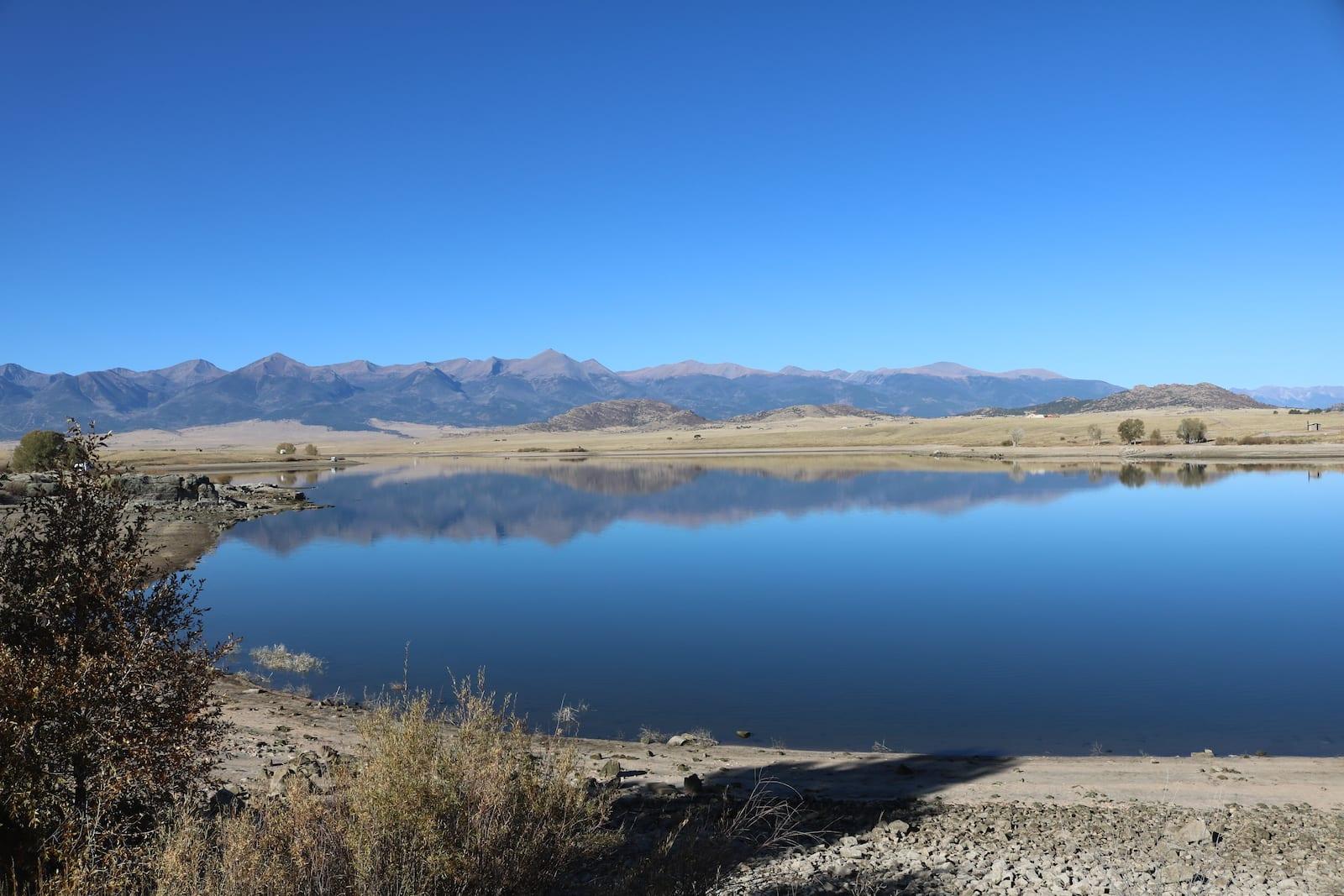 DeWeese Reservoir Colorado