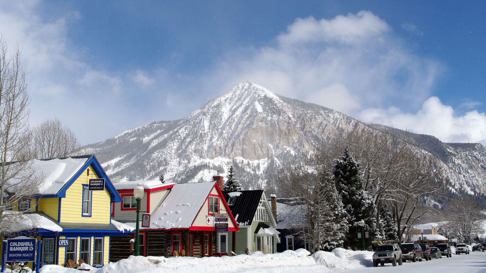 Mount Crested Butte Downtown