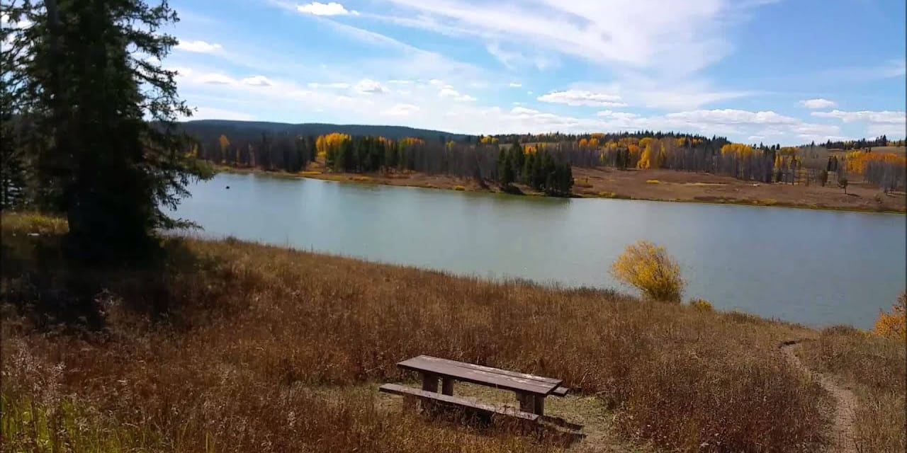 Dumont Lake Fall Colors Steamboat Springs CO