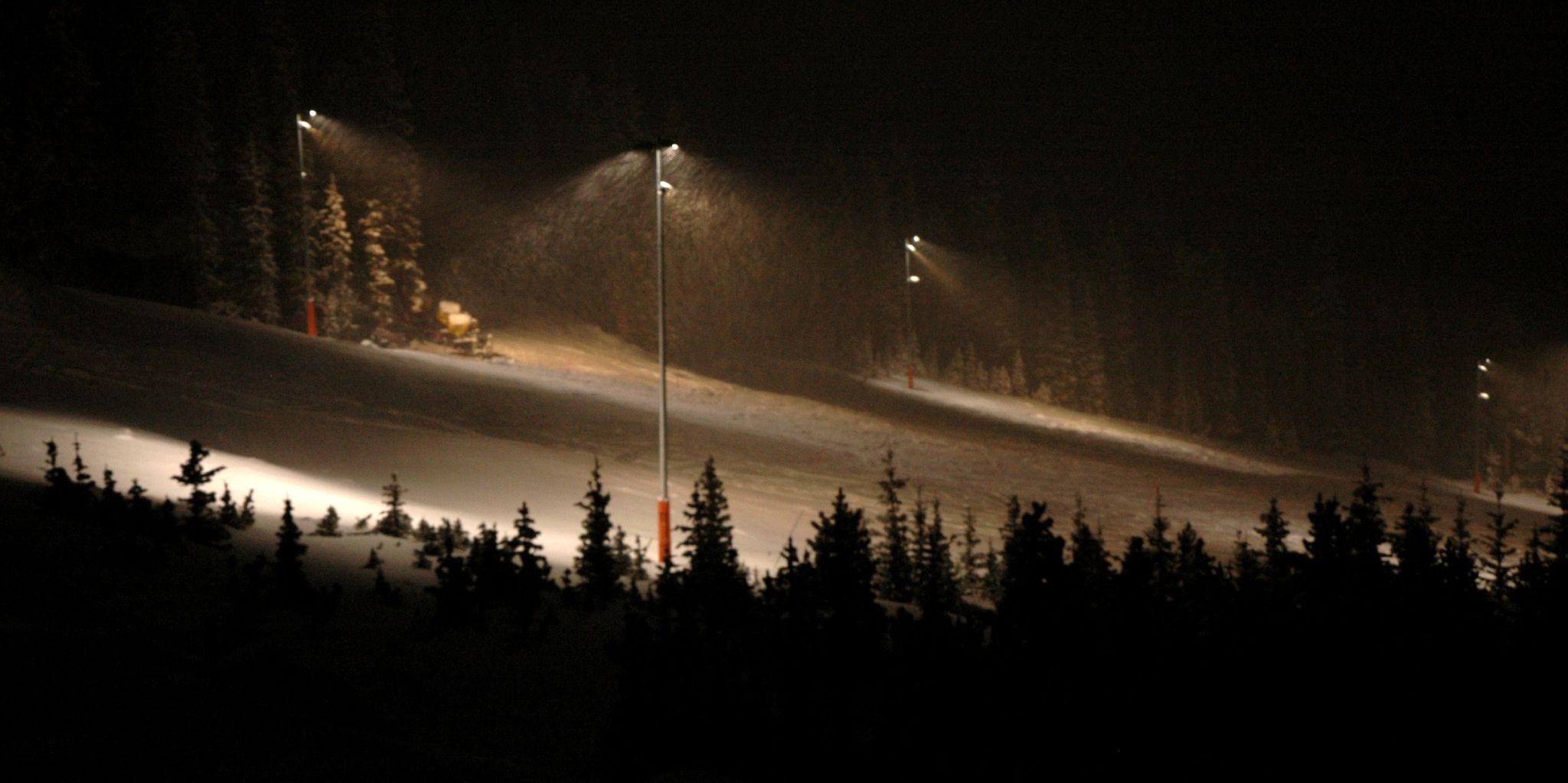 Echo Mountain Night Skiing Idaho Springs CO