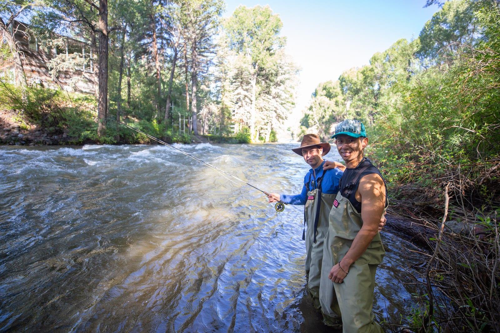 Fly Fishing Roaring Fork River Aspen CO