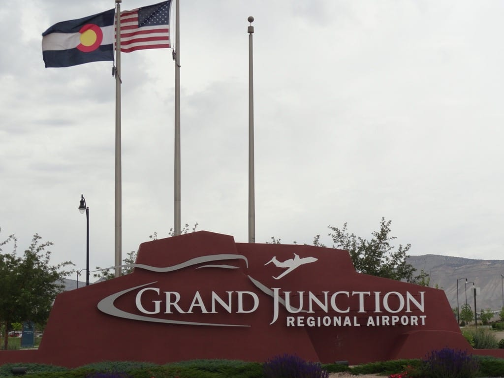 Grand Junction Regional Airport Sign