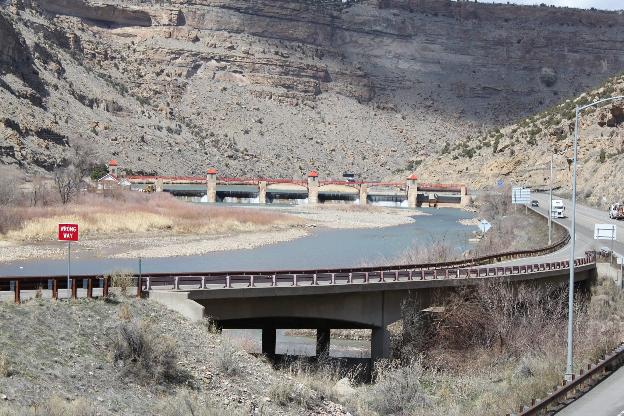 Grand Valley Diversion Dam Colorado River