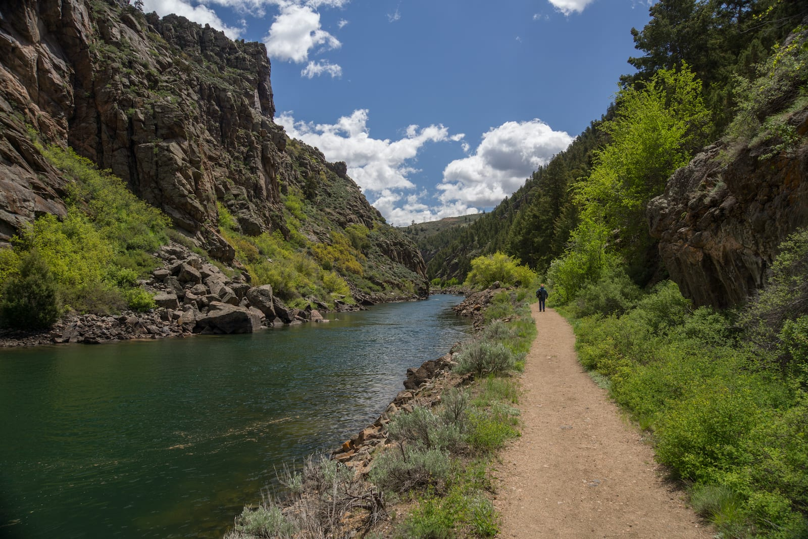 Gunnison River Hiking Trail Black Canyon of the Gunnison National Park