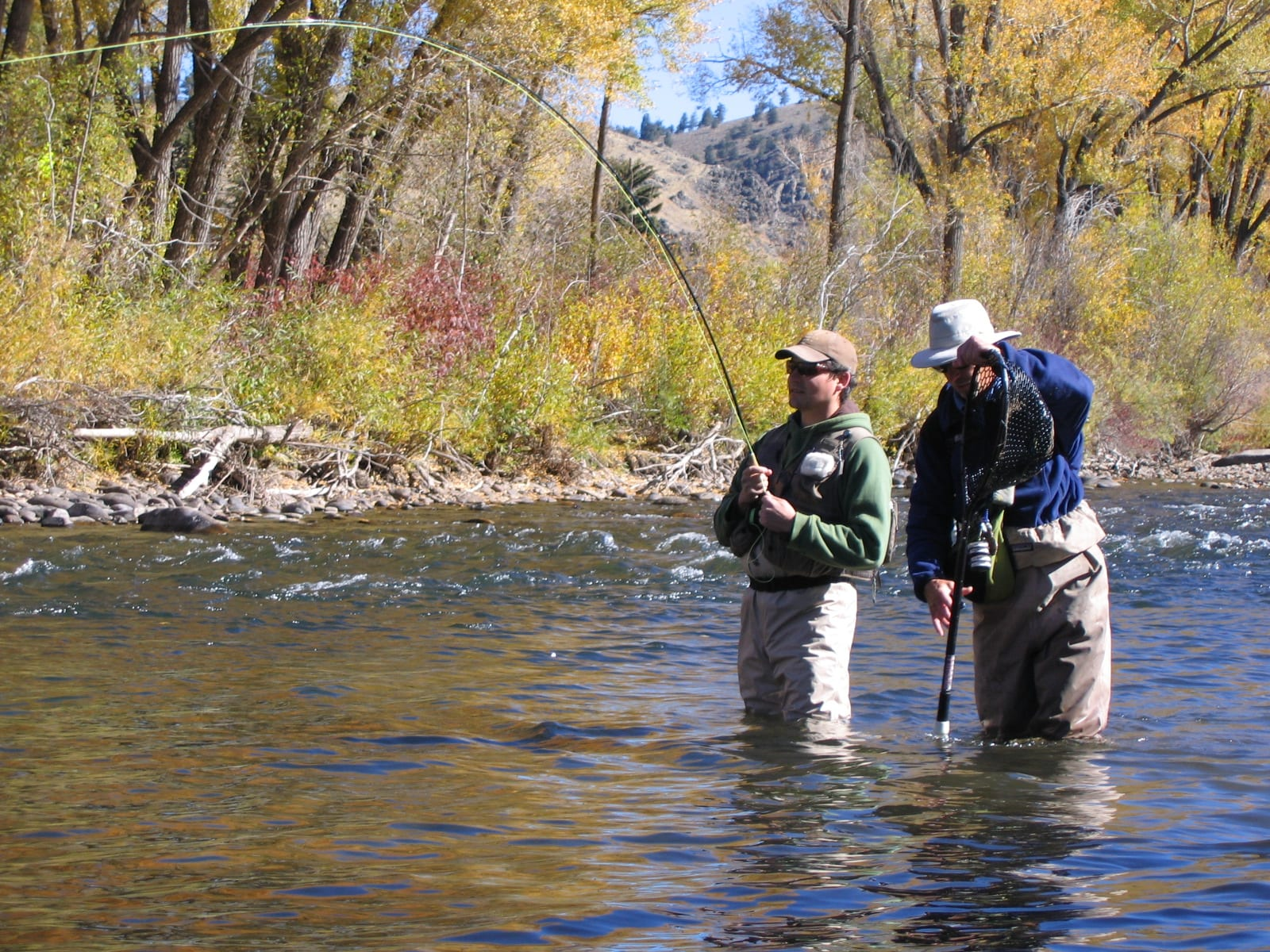 Fishing near Crested Butte CO Gunnison River