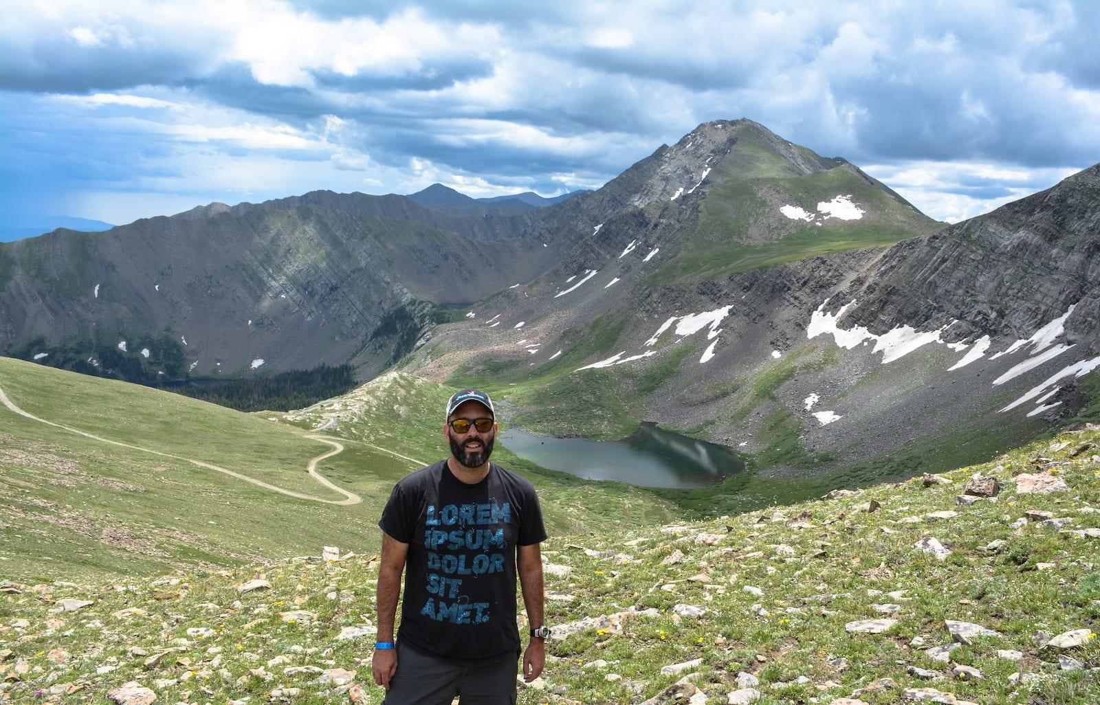 Hermit Lake near Hermit Pass Westcliffe Colorado