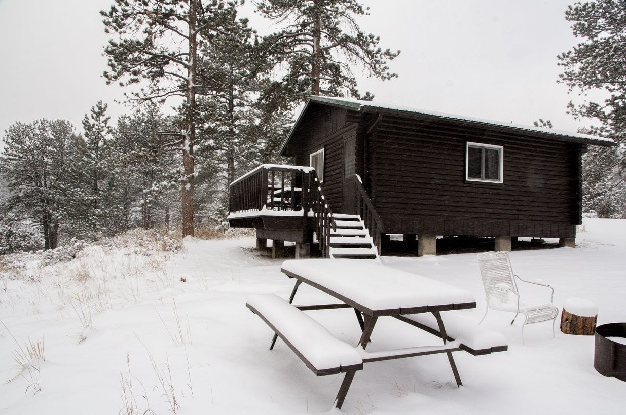 image of cabin at hermit park open space