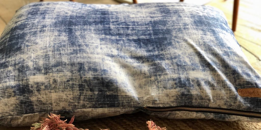 Holden and Hay Denim Pillow Made in Boulder
