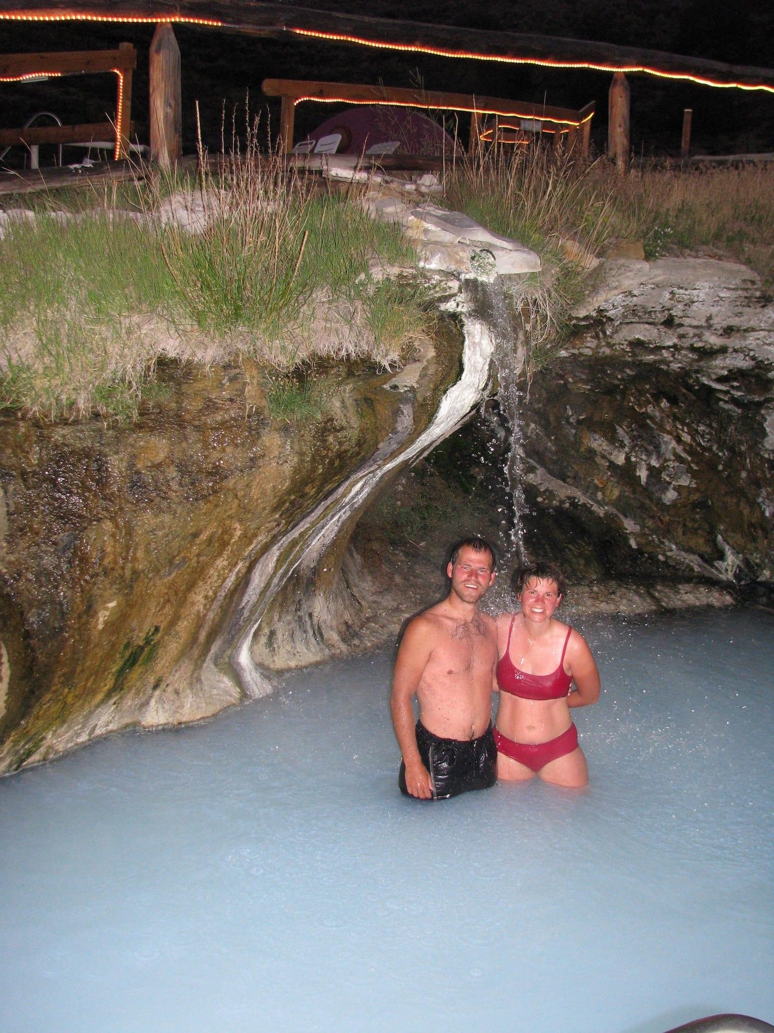 Hot Sulphur Springs Resort Waterfall Pool