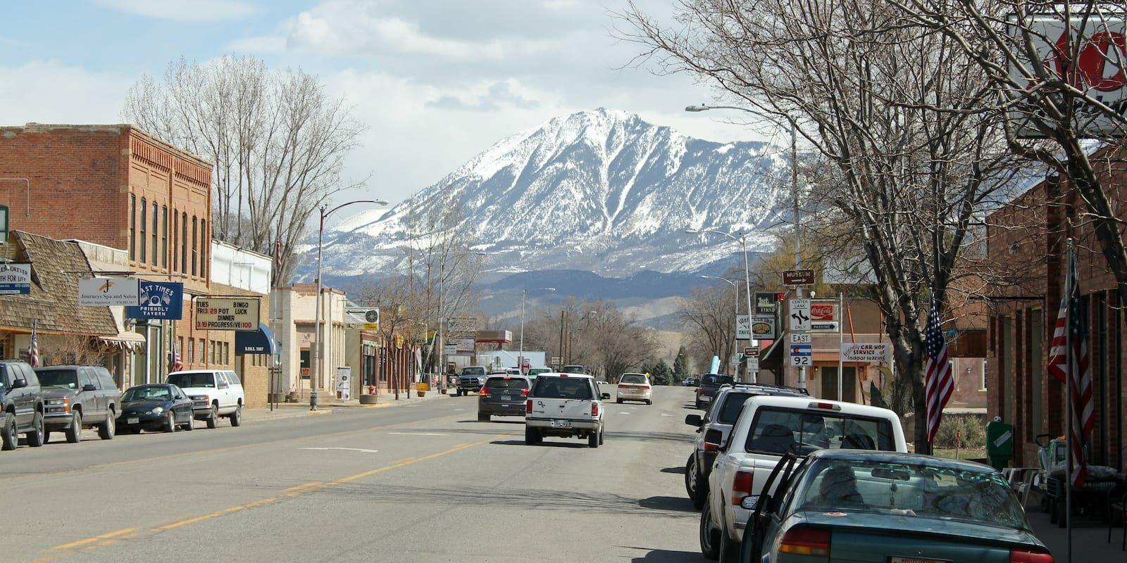 East Bridge Street Hotchkiss Colorado Mt. Lamborn