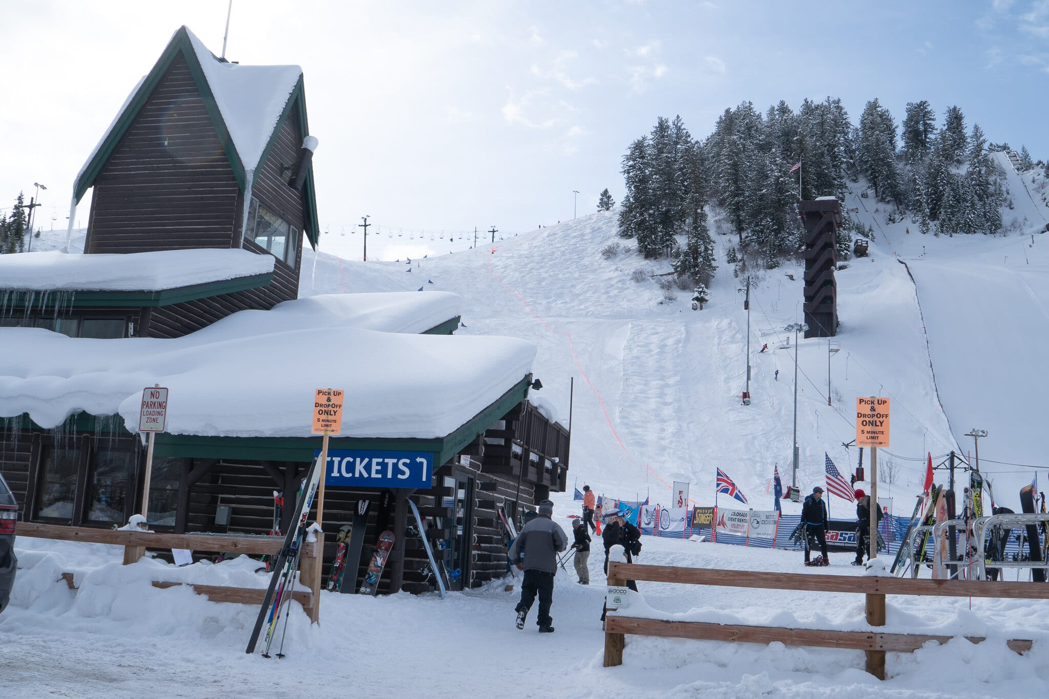 image of howelsen ski area