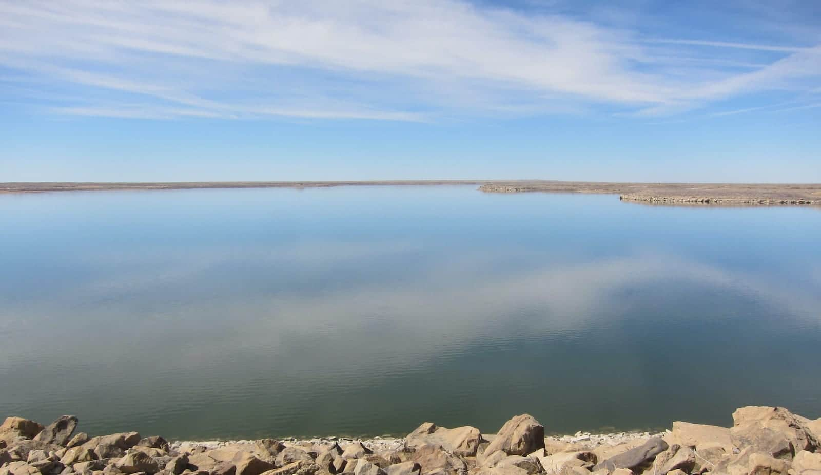 John Martin Reservoir Facing West Colorado