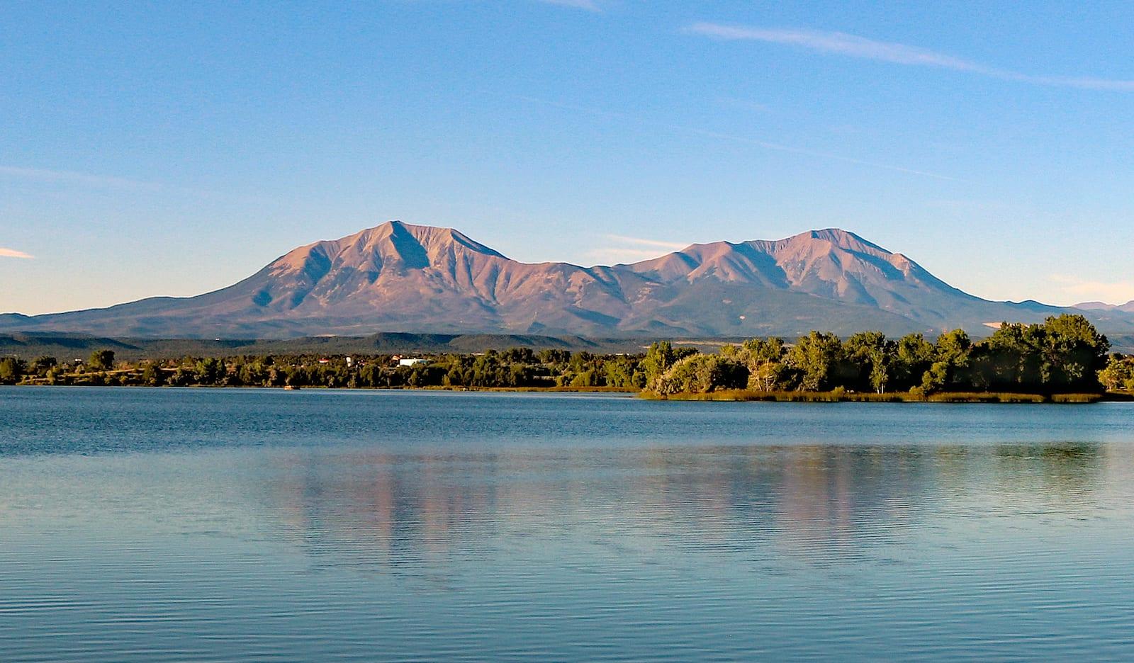 Lathrop State Park Horseshoe Lake Spanish Peaks