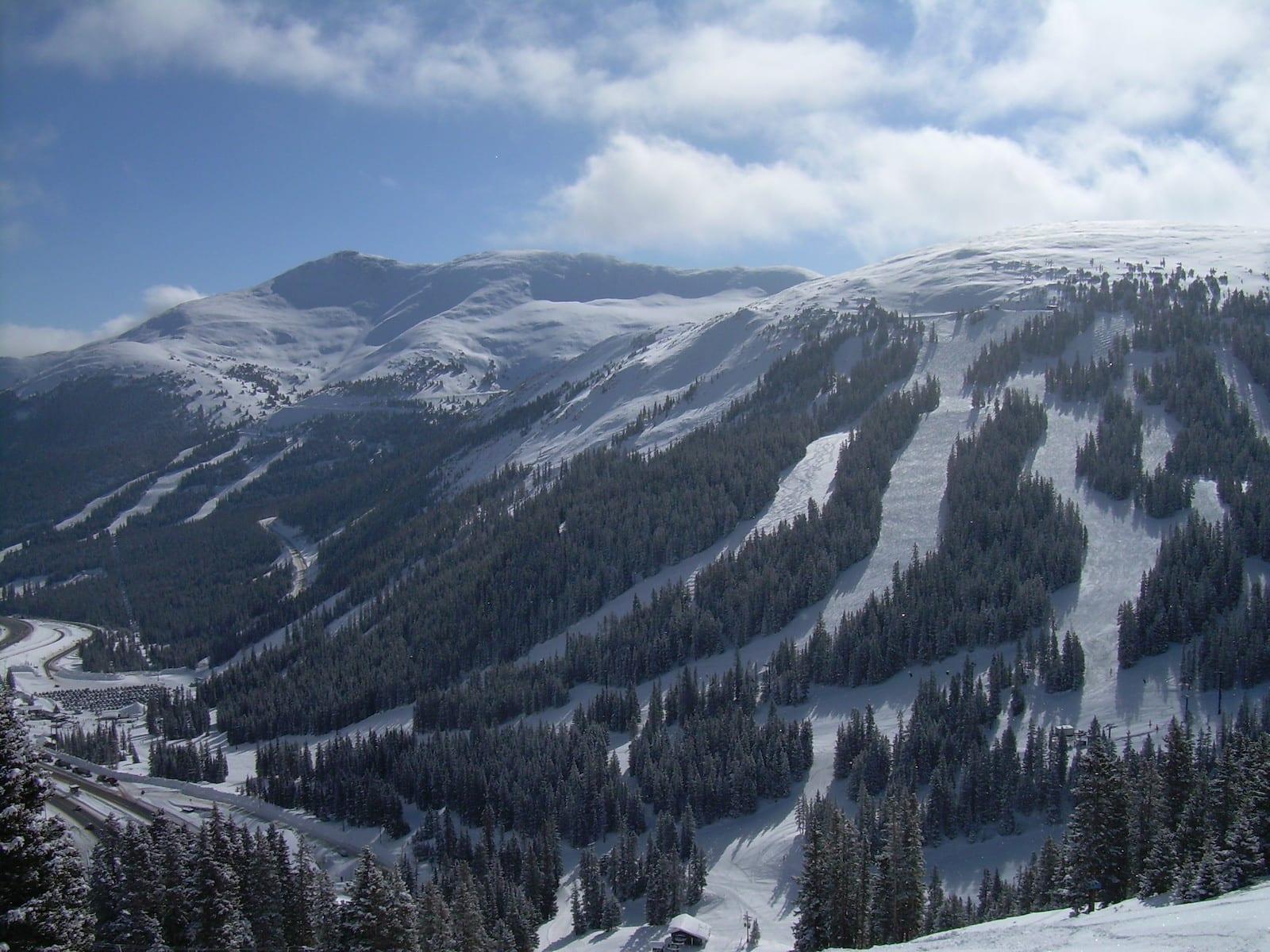 Loveland Ski Area Interstate 70 Colorado