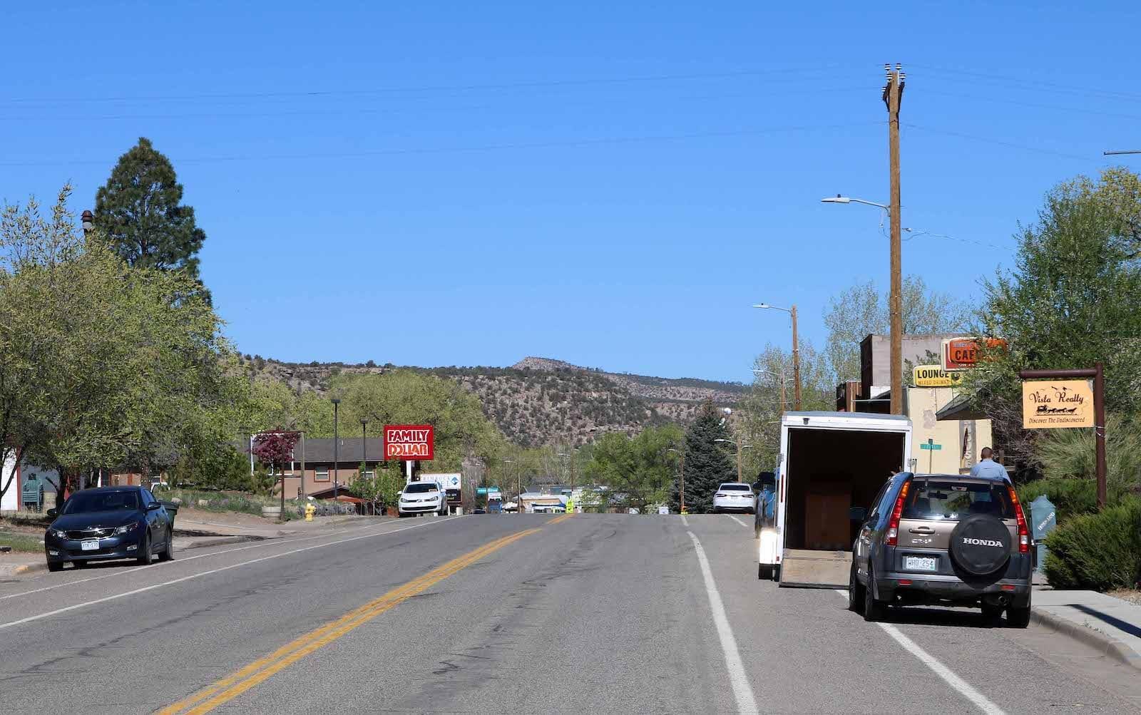 Naturita Colorado Main Street