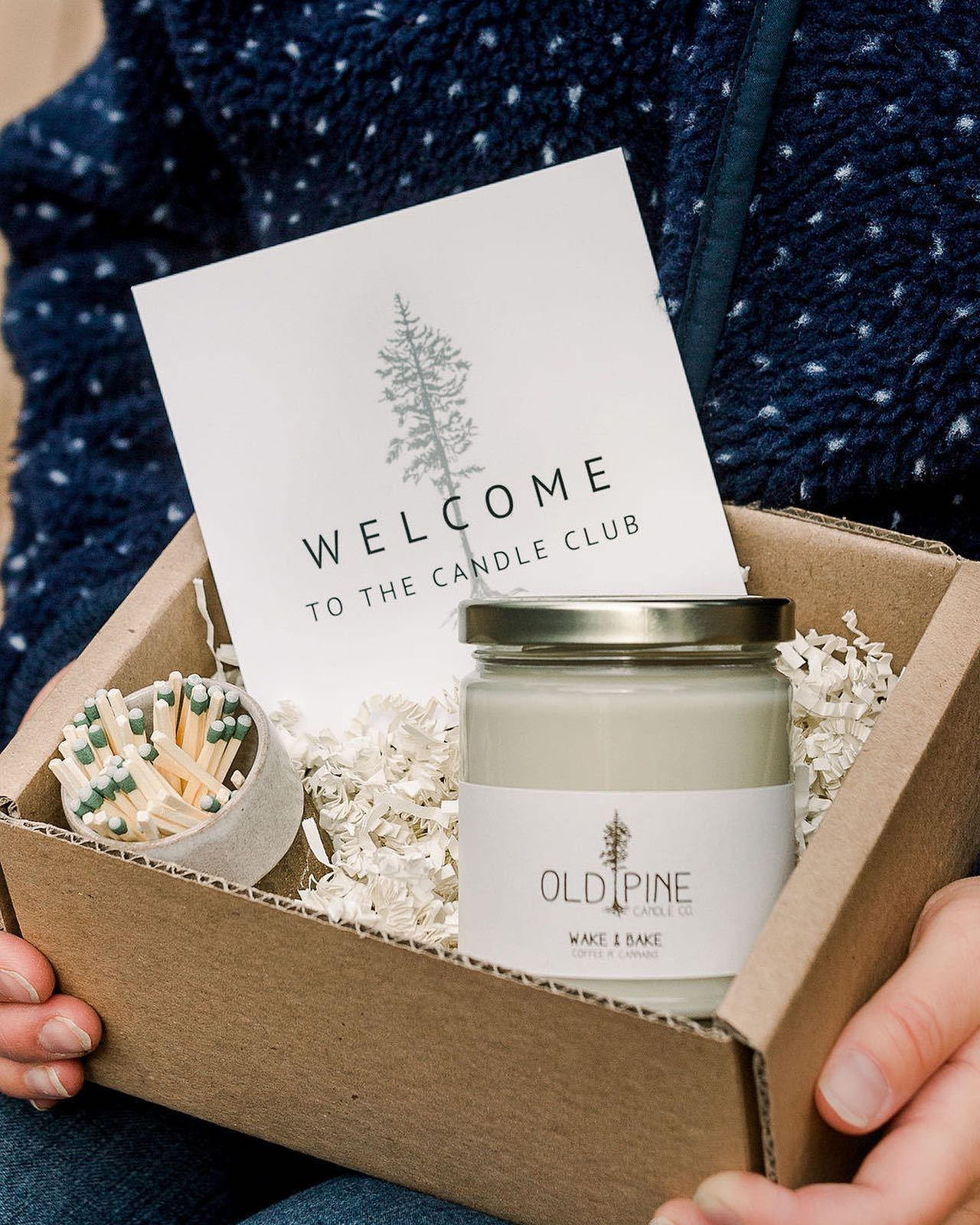 image of gift set from old pine candle company