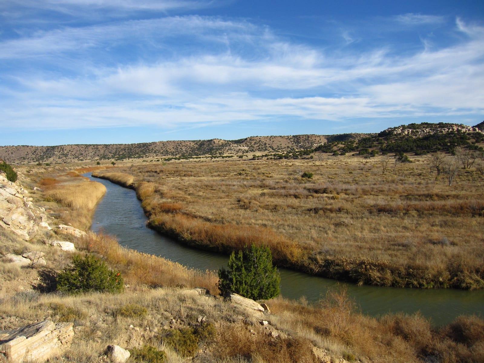 Purgatoire River Picket Wire Canyon Colorado