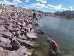 Fishing at Quail Lake Colorado Springs