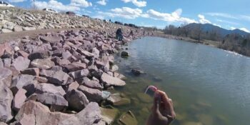 Fishing at Quail Lake Colorado Springs