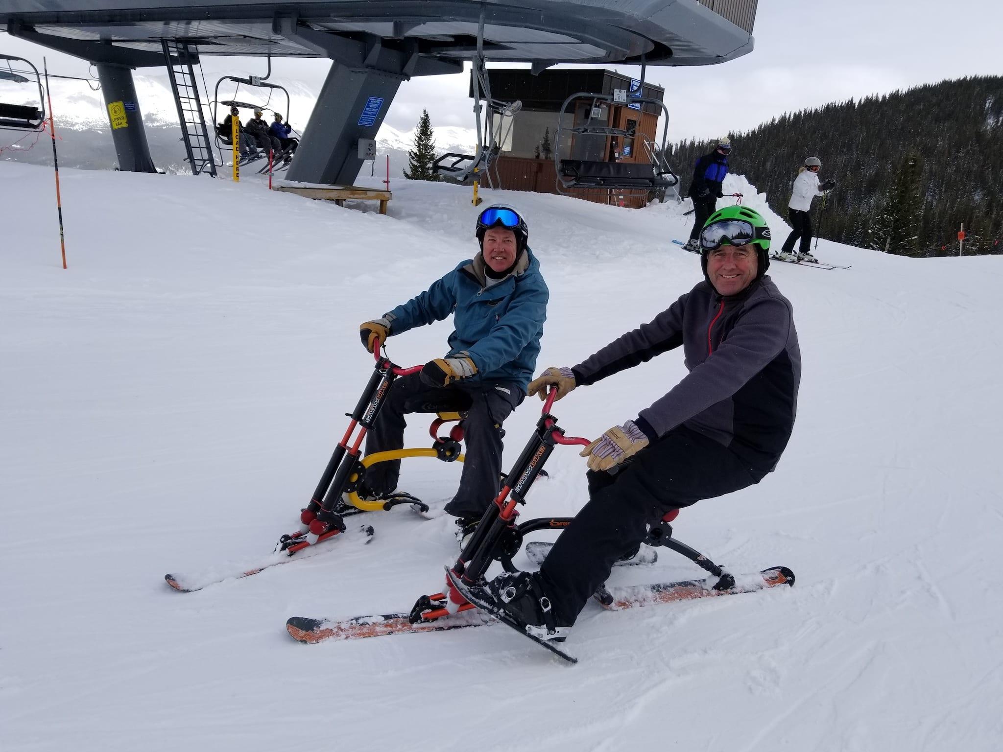 Roger's Snowbike Rentals Breckenridge Ski Resort