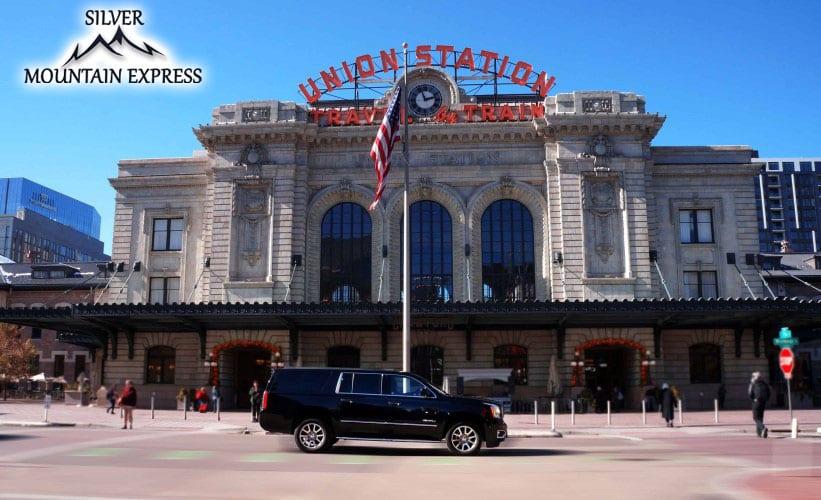 Silver Mountain Express Downtown Denver Union Station