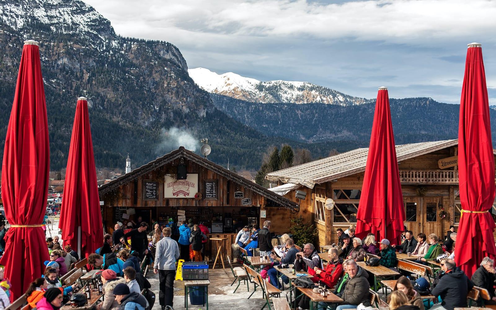 Apres Ski German Alps Lodge