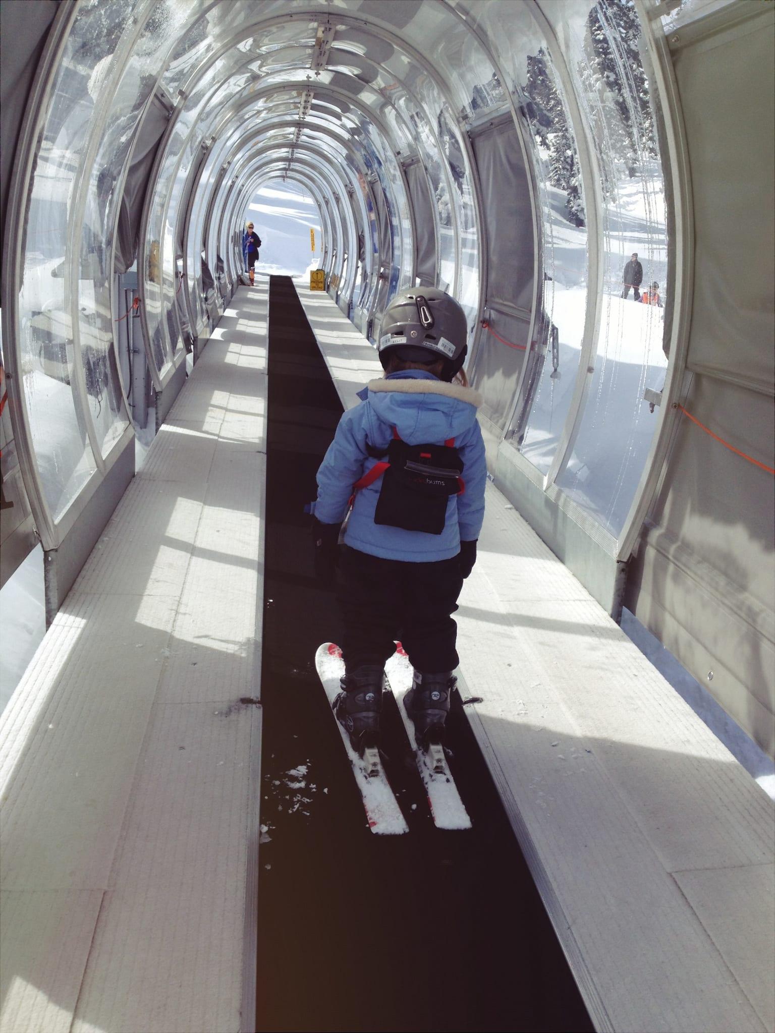 Ski Lingo Magic Carpet Lift