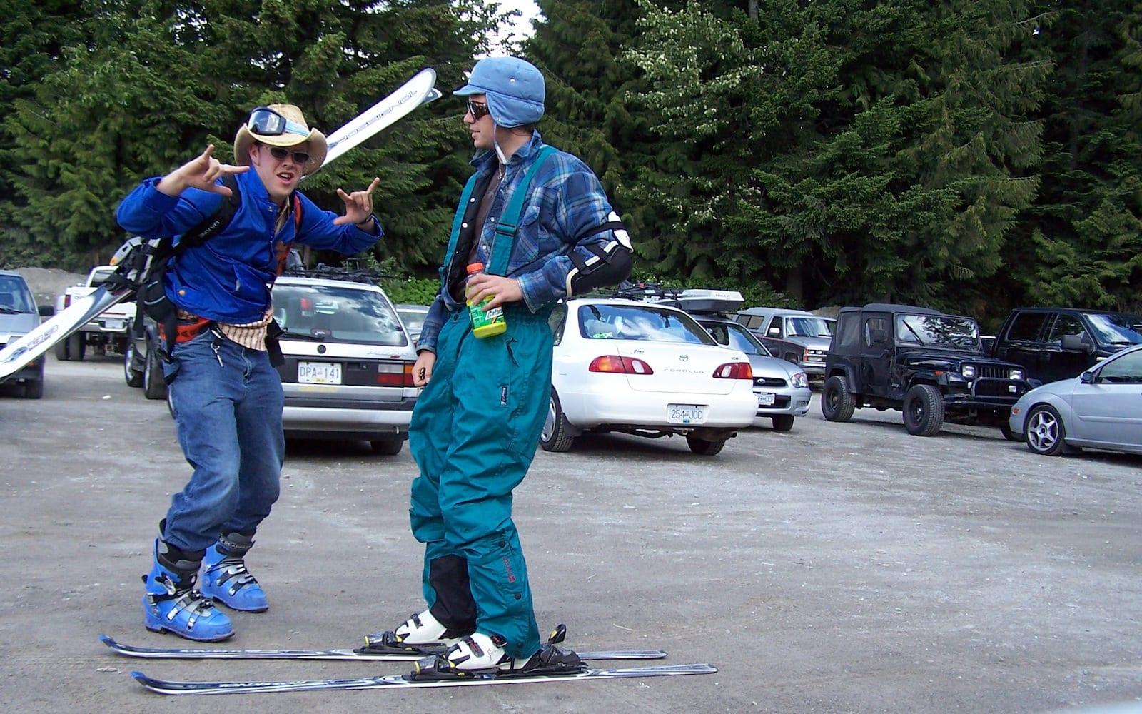 Ski Lingo Gaper Day in Whistler